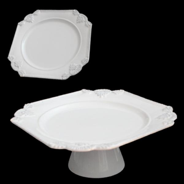 Bandeja de Porcelana Branca