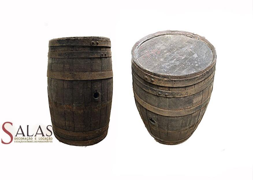 Barril de Madeira Vintage