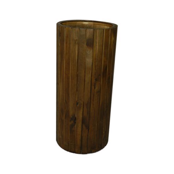 Coluna de Madeira Rústica