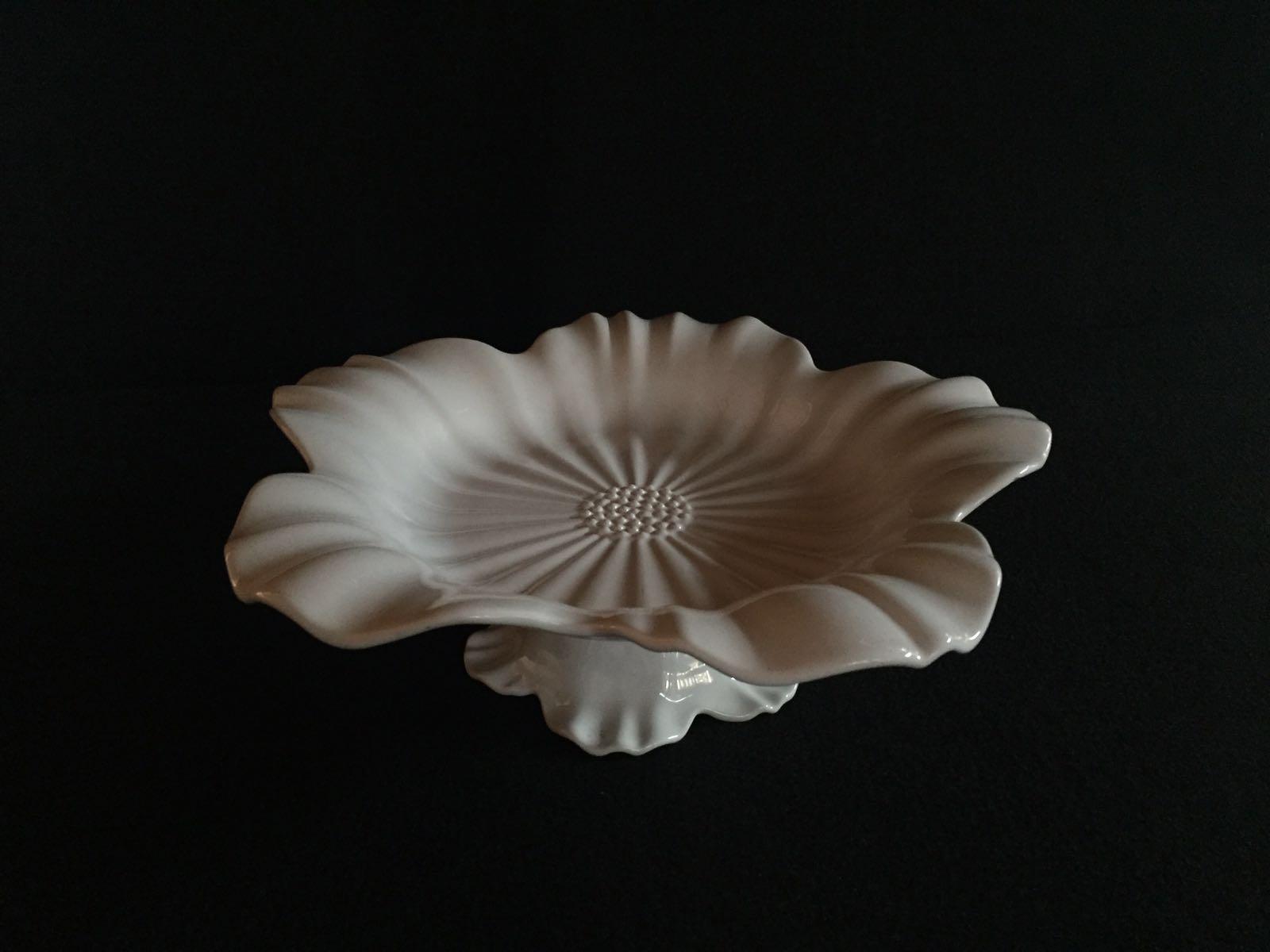 Bandeja Cerâmica Flor Grande