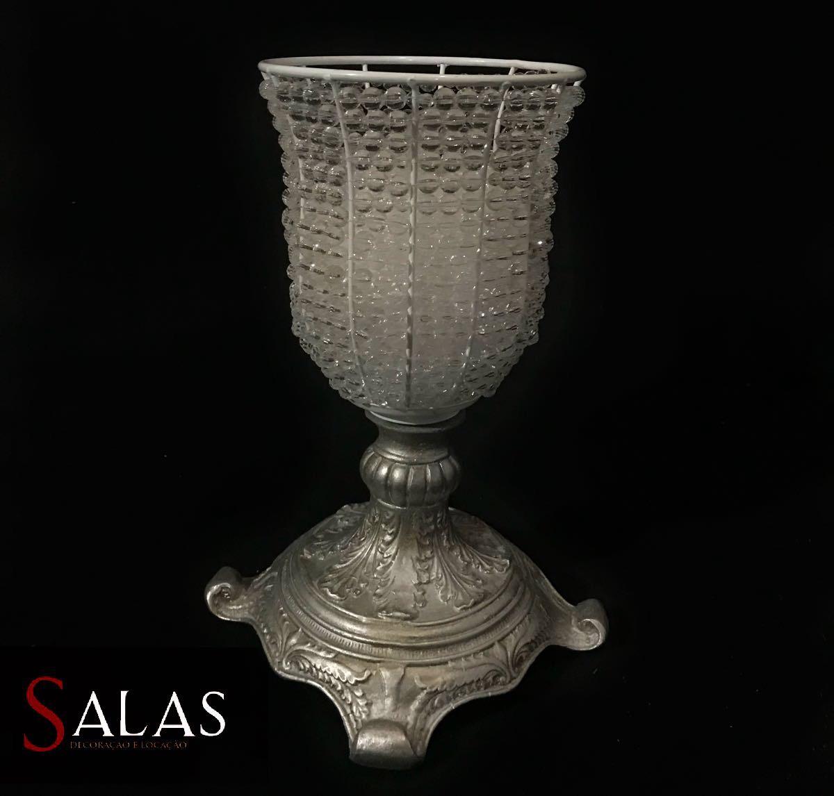 Vaso Imperial com Pedras 38cm
